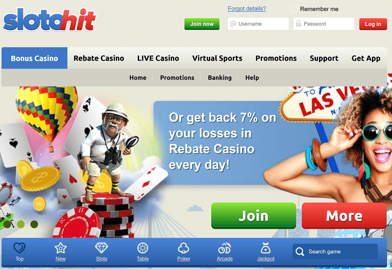 SlotoHit Casino Instant Coupon Codes September 2020