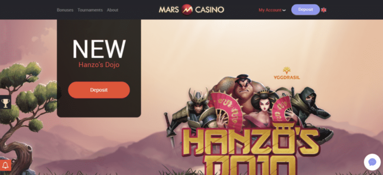 Mars Casino Bonus September 2017