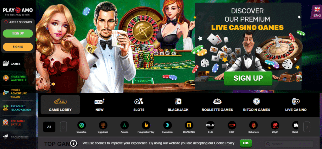 PlayAmo Casino Free Spins Bonus Code December 2019