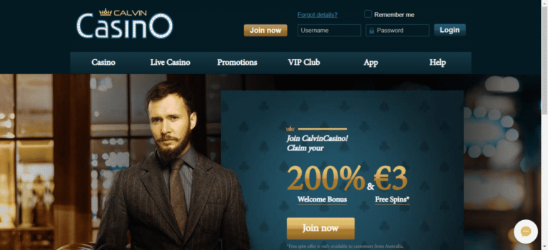 Calvin Casino Signup Bonus Code 2020 September