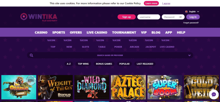 Wintika Casino 25 Free Spins No Deposit Bonus Code February 2020