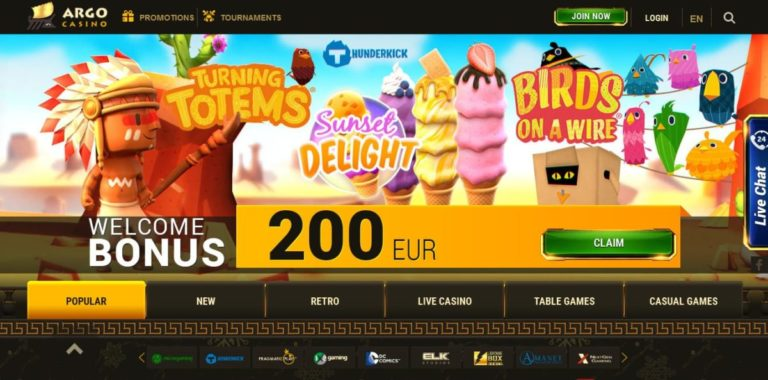 Argo Casino Free Coupon Codes February 2020