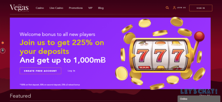 Vegas Online Bitcoin Casino Bonus September 2020