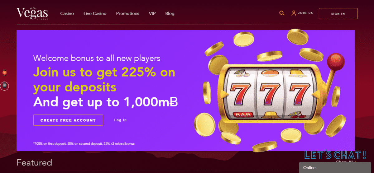 Bitcoin Casino Vegas Bonus Codes January 2020 – Vegascasino.io Coupons