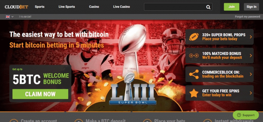 Cloudbet Casino Promo Codes September 2020 – Bonus Code For Cloudbet.com