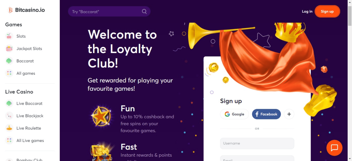 BitCasino Loyalty Program