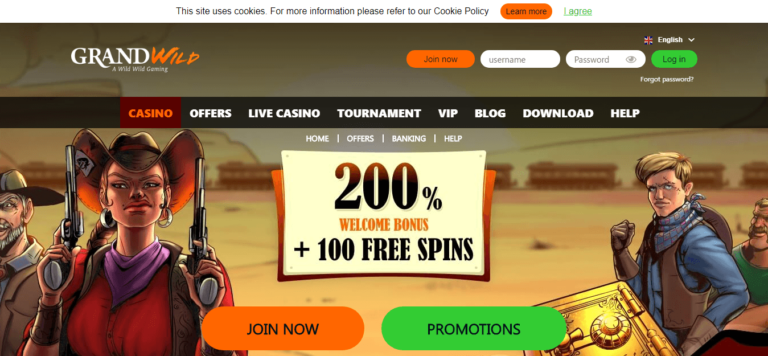Grand Wild Casino New No Deposit Bonus Code September 2017