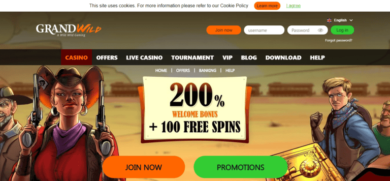 Grand Wild Casino No Deposit Bonus August 2017