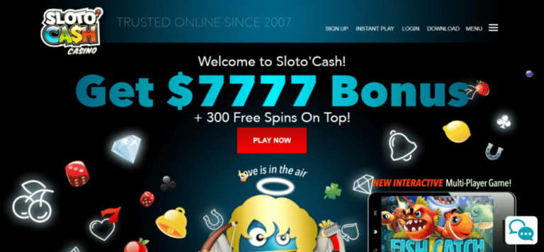 SlotoCash Casino 111% Bonus Plus 33 Free Spins Code July 2020