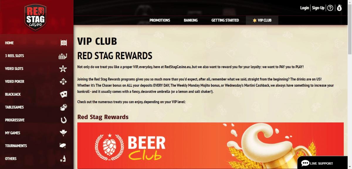 Red Stag No Deposit Bonus Code