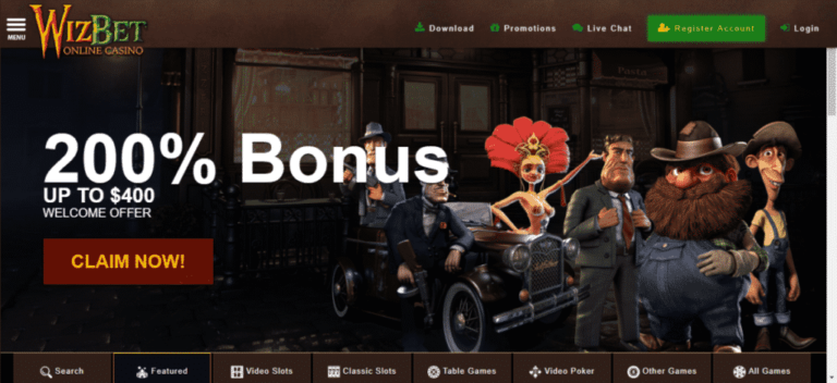 WizBet Casino Free Spins Bonus Code September 2020