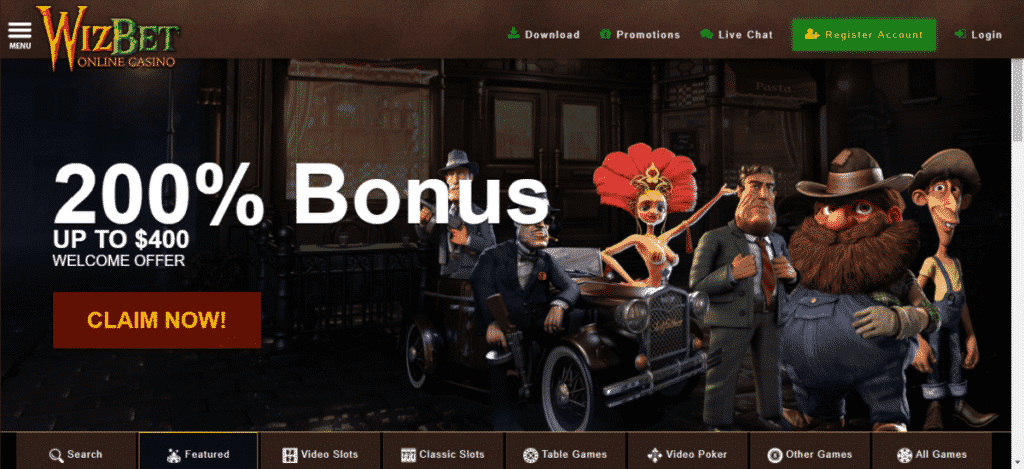 WizBet Casino No Deposit Bonus Codes September 2020
