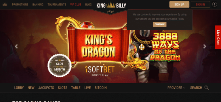 Read more about the article King Billy Casino No Deposit Bonus September 2021 – Kingbillycasino.com Coupons