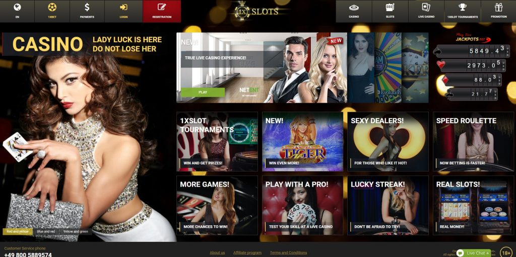 1x Slots Casino Bonus Codes – 1x Slot Promo Code September 2019