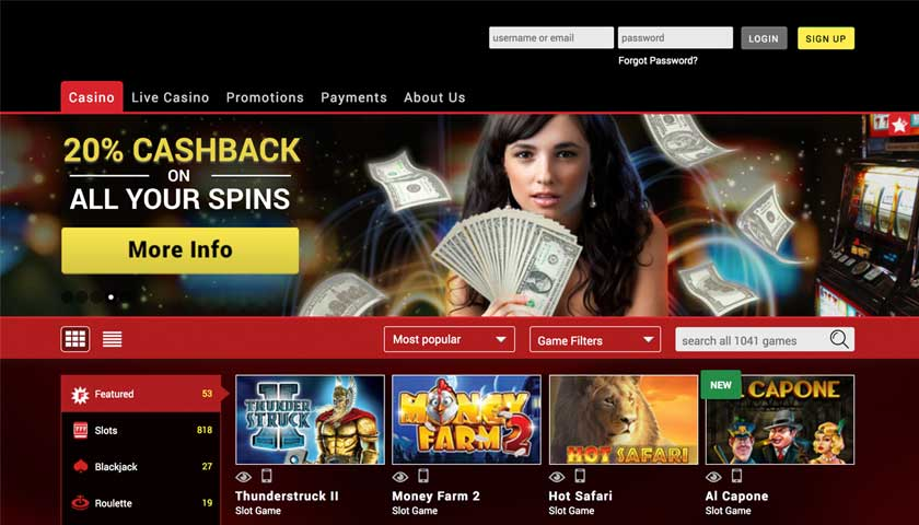 Mongoose Casino Voucher Codes