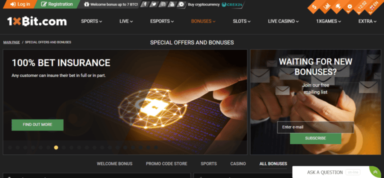 Read more about the article 1xBit Bitcoin Casino Promos, Reviews & Ratings