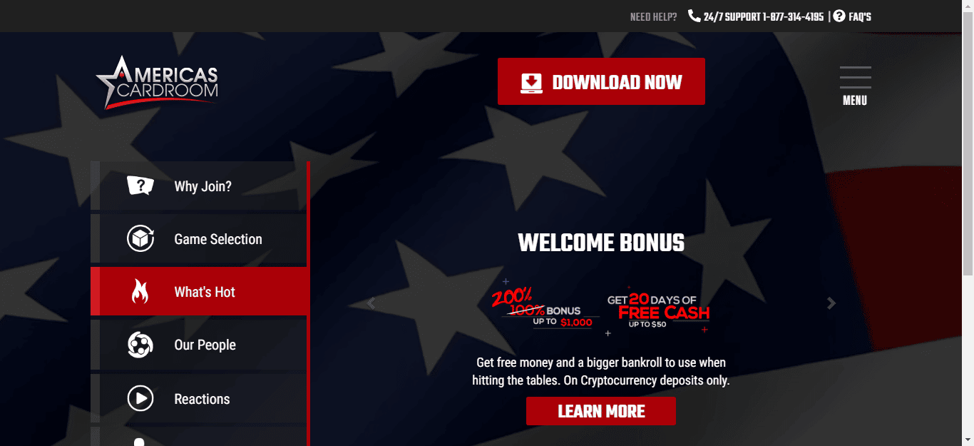 Americas Cardroom Free Chips Promo Codes January 2020