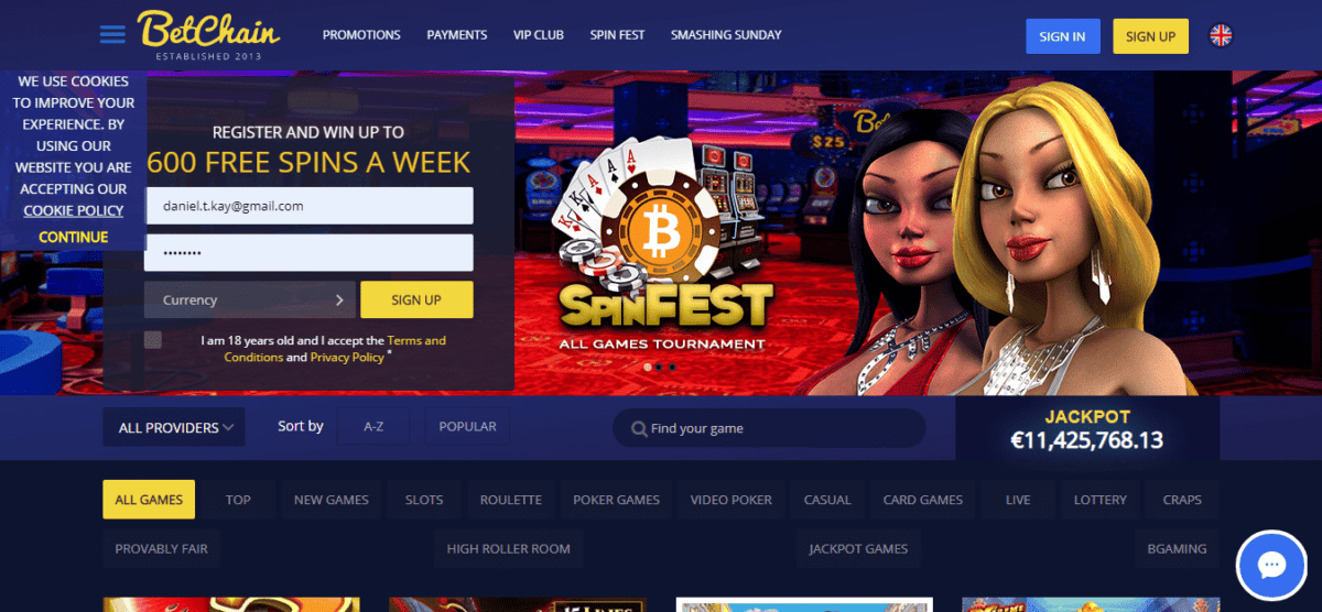 Promos For Betchain Casino
