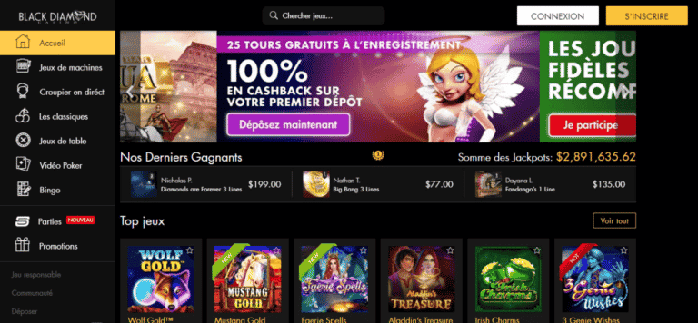 Black Diamond Casino No Deposit Bonus Codes August 2020