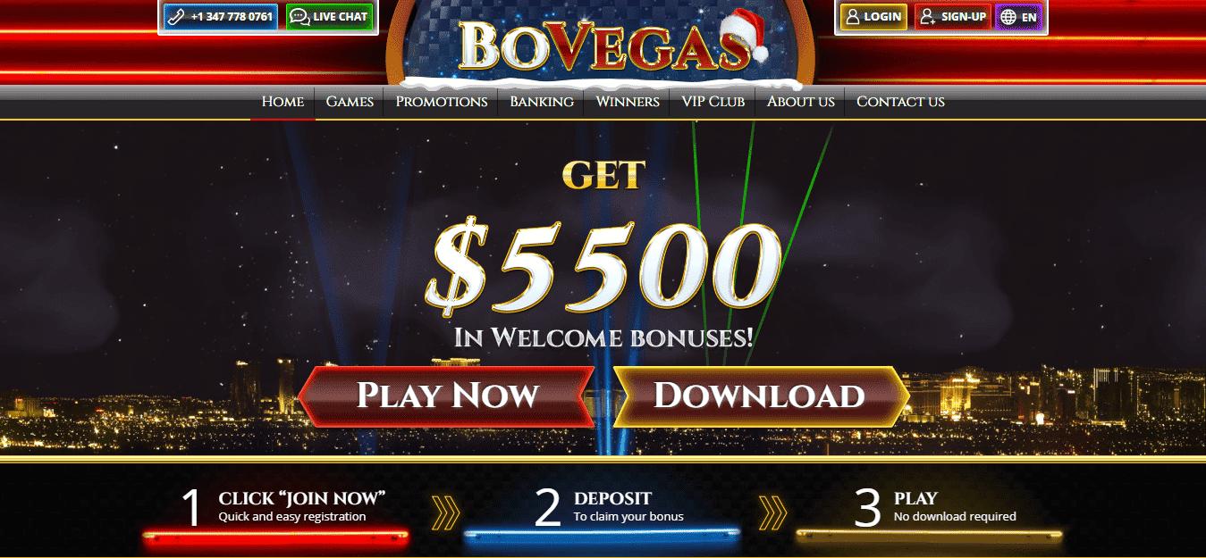 BoVegas Casino Bonus Codes September 2020