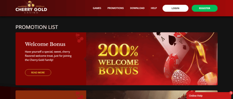 Read more about the article Cherry Gold Casino Promos, Reviews & Ratings