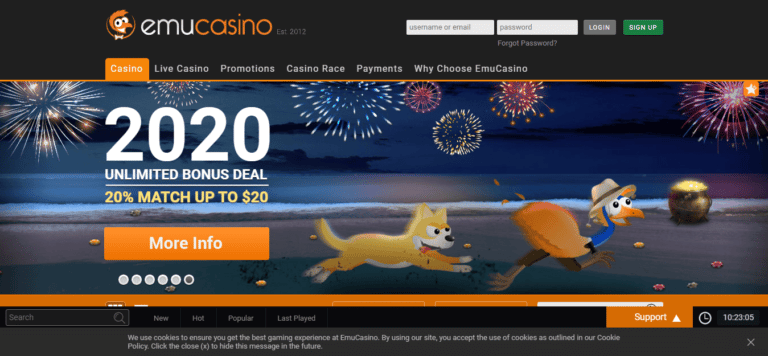 Read more about the article EmuCasino Promos, Reviews & Ratings