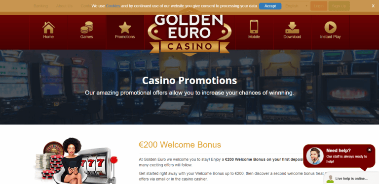 Read more about the article Golden Euro Bitcoin Casino Promos, Reviews & Ratings