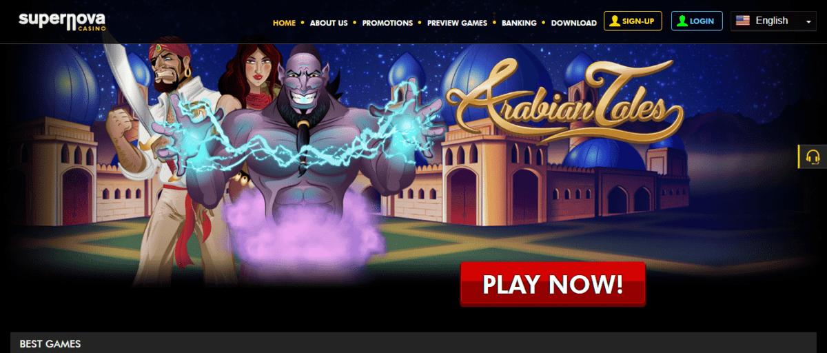 Supernova Casino Free Bonus
