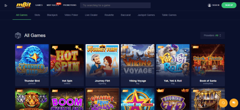 Read more about the article mBit Bitcoin Casino Promos, Reviews & Ratings