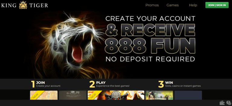 King Tiger Casino Bonus Codes – KingTiger.io Free Tokens January 2021