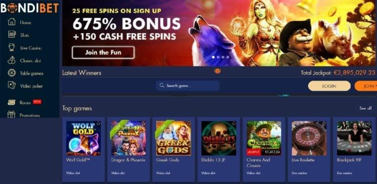 BondiBet Bonus Codes – BondiBet.com Free Spins Bonuses August 2020