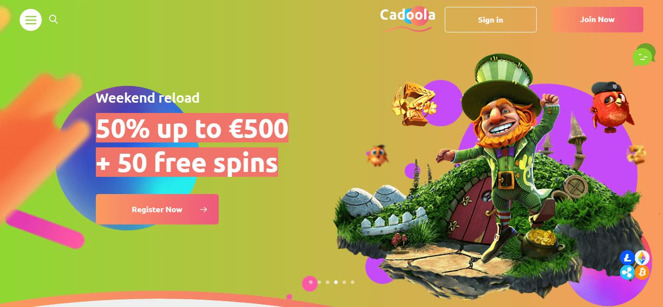 Cadoola Casino Bonus Codes