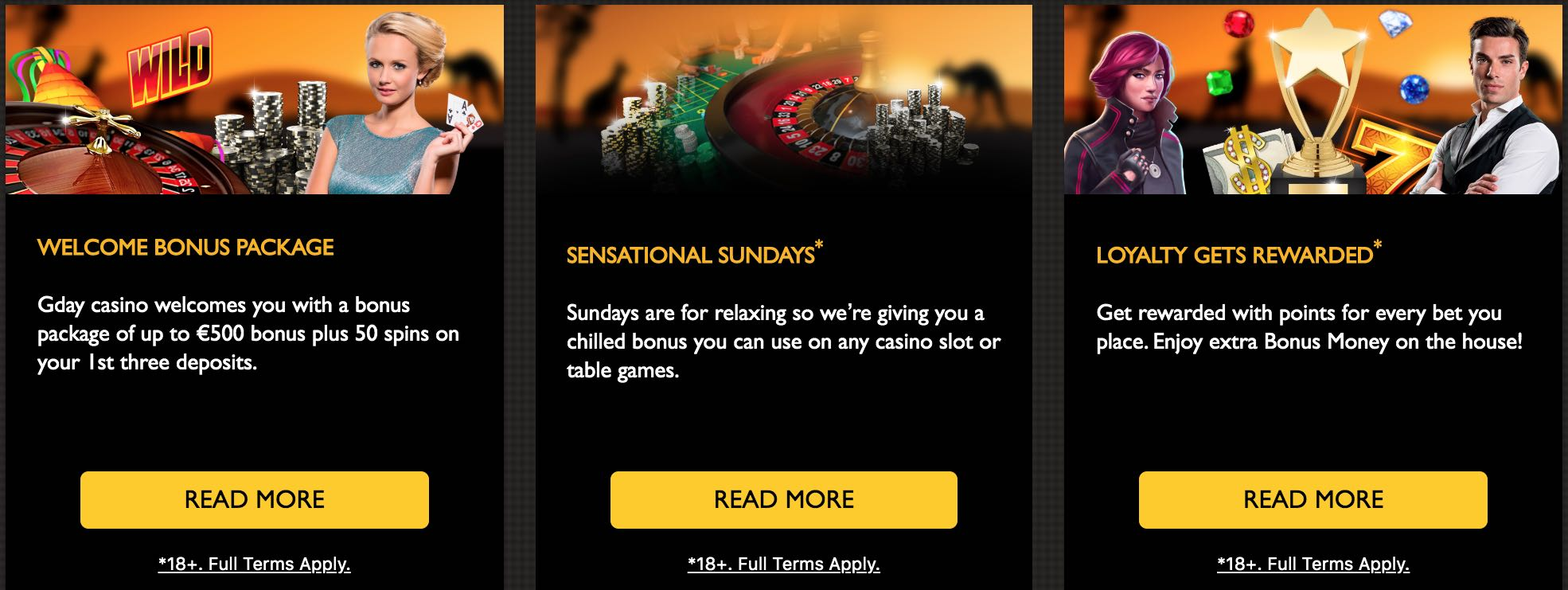 Gday Casino Bonus Codes – GDayCasino.com Free Spins September 2020