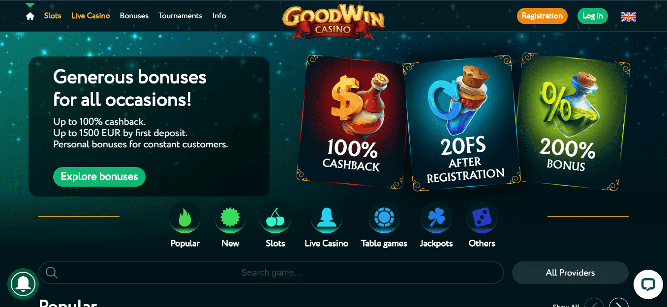 GoodWin Casino Bonus Codes – Goodwincasino.com Free Spins July 2020