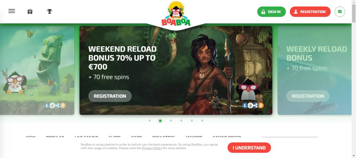 BoaBoa Free Bonus