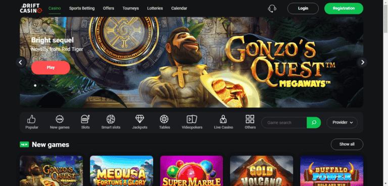 Drift Casino Bonus Codes – DriftCasino.com Free Spins November 2020