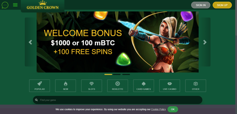 Golden Crown Casino Bonus – GoldenCrownCasino.com Promo Codes September 2020