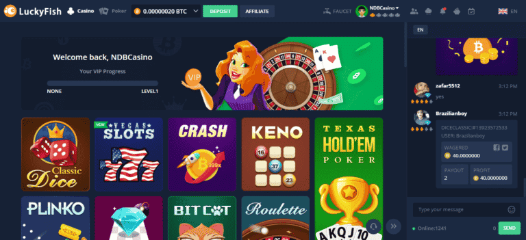 Lucky Fish Casino Free Bonus – LuckyFish.io Coupons September 2020