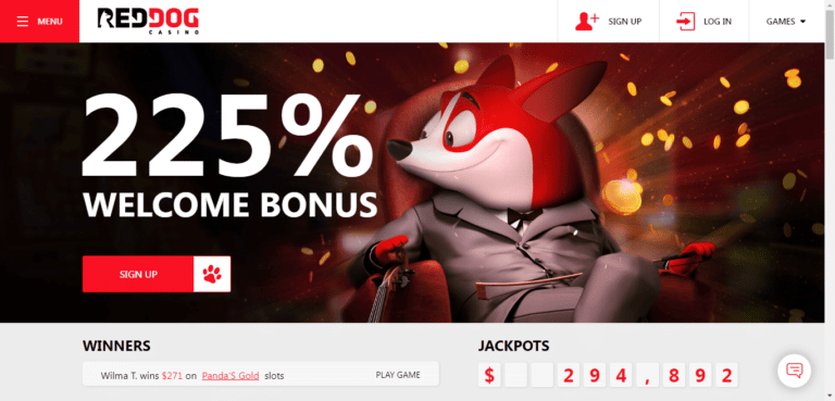 Read more about the article Red Dog Casino Bonus Codes – RedDogCasino.com Free Spins September 2021