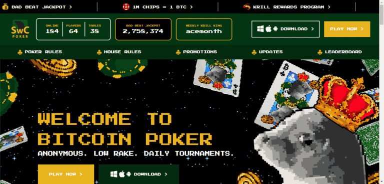 Read more about the article SWC Free Bonus Codes – SealsWithClubs Rakeback Promos September 2021