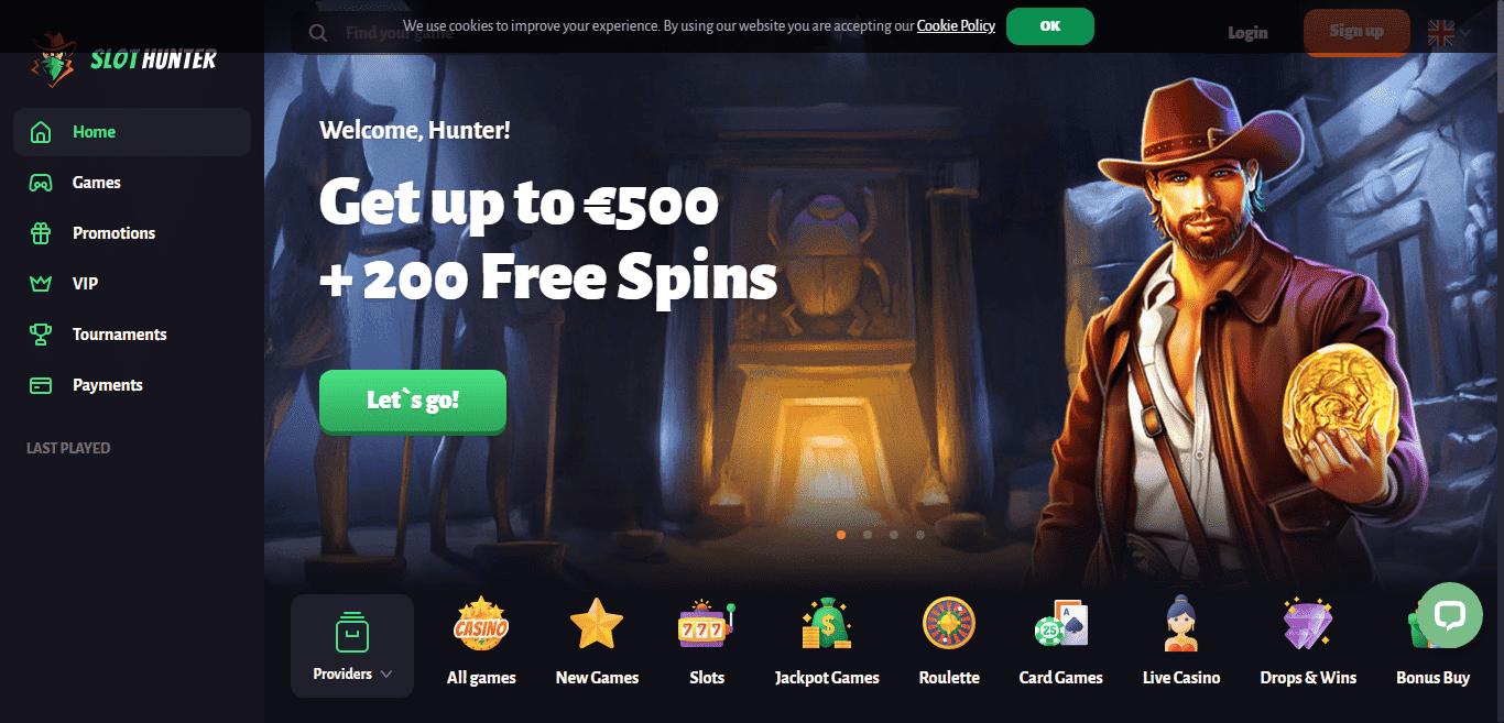 Slot hunter casino no deposit bonus