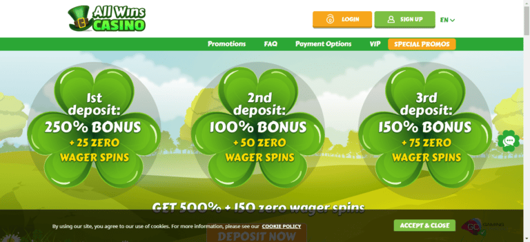 Read more about the article All Wins Casino Promo Codes – Allwinscasino.com Free Spins September 2021