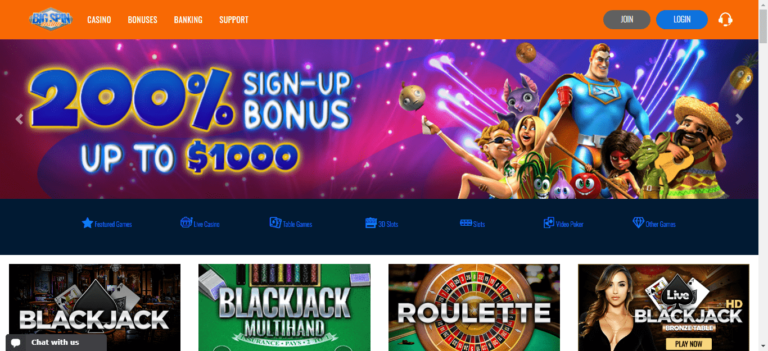 Read more about the article Big Spin Casino Promo Codes – Bigspincasino.com Free Spins September 2021