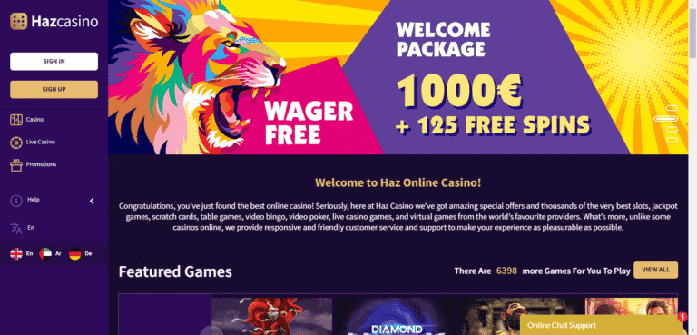 Read more about the article HAZ Casino Bonus Codes – HazCasino.com Free Spins September 2021