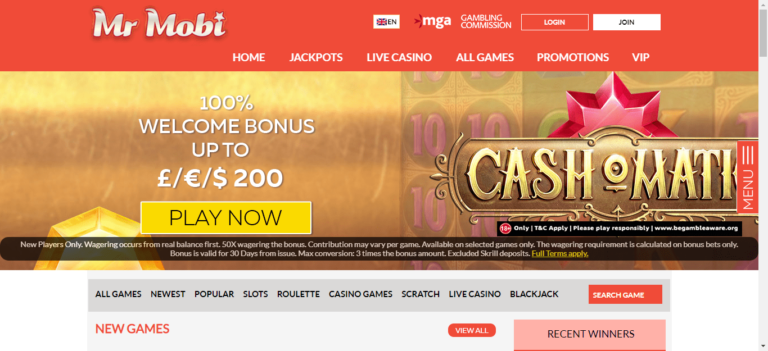 Mr Mobi Casino Bonus Codes – MrMobi.com Free Spins January 2021