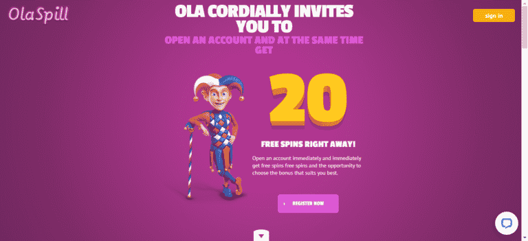 OlaSpill Casino Promo Codes – OlaSpill.com Free Spins January 2021