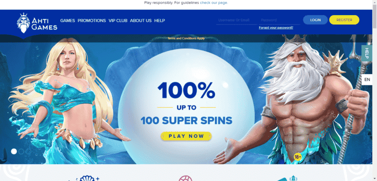 AHTI Games Promo Codes – AhtiGames.com Free Spins January 2021