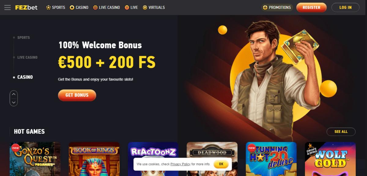 FezBet Free Bonus