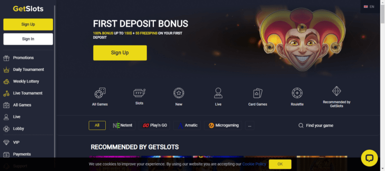 Read more about the article Get Slots Casino Bonus Codes – GetSlots.com Free Spins September 2021