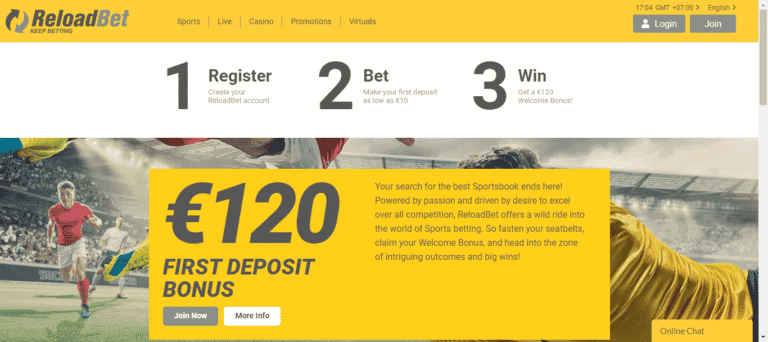 Read more about the article ReloadBet Promo Codes – ReloadBet.com Free Coupons September 2021